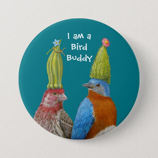 I am a Bird Buddy pin