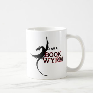 I am a Book Wyrm (printed both sides) Coffee Mug