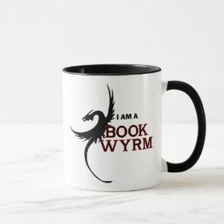 I am a Book Wyrm (printed both sides) Mug
