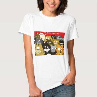 I am a cat person tshirts