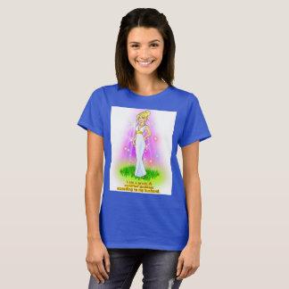 I am a Certified Goddess (blonde) T-Shirt