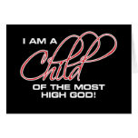 I Am A Child of the Most High God - Joel Osteen Greeting Card
