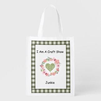 I Am A Craft Show Junkie Tote