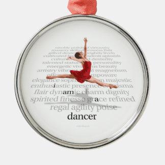 I Am A Dancer Christmas Ornament