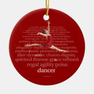 I Am A Dancer Christmas Ornament