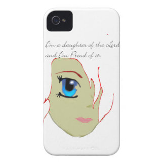 I am a daughter of the Lord iPhone 4 Cases