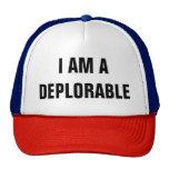 I AM A DEPLORABLE CAP