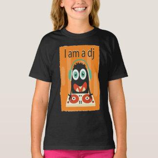 """I am a DJ"" Funny Cute Kid's Men's Clothing T-Shirt"