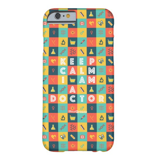 I AM A DOCTOR (Retro) Barely There iPhone 6 Case