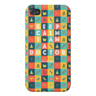 I AM A DOCTOR (Retro) iPhone 4 Cover