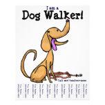 I am a Dog Walker! Flyer