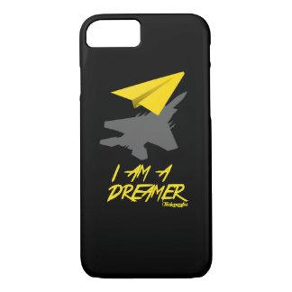 I AM A DREAMER (Black) iPhone 7 Case