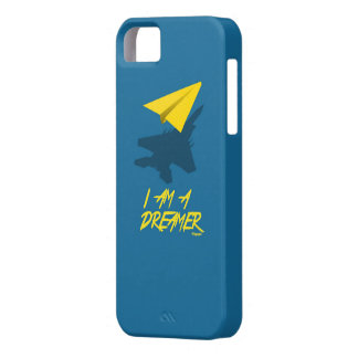 I AM A DREAMER (Blue) iPhone 5 Cases