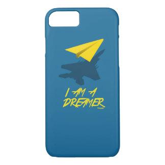 I AM A DREAMER (Blue) iPhone 7 Case