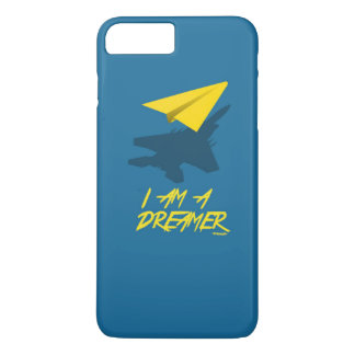 I AM A DREAMER (Blue) iPhone 7 Plus Case