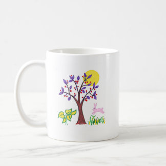I am a friend of nature painting & quotation coffee mug