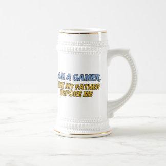 I Am a Gamer, Like My Father Before Me Mug