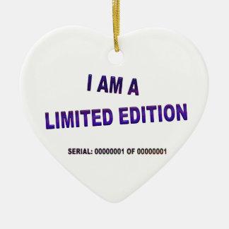 I Am A Limited Edition Ceramic Heart Decoration