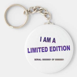 I Am A Limited Edition Key Ring