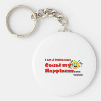 I am A Millionaire Count My blessing Key Ring