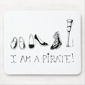 I am a pirate ! mouse mat