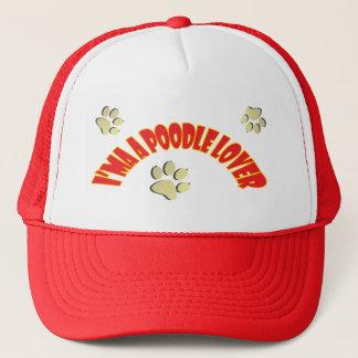I am a Poodle Lover Cap