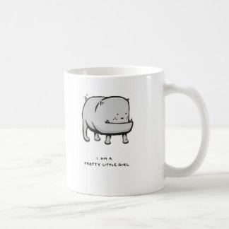 i am a pretty little girl coffee mug