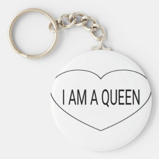I am a Queen Key Ring