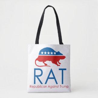 I am a R.A.T: Republican Against Trump Tote Bag
