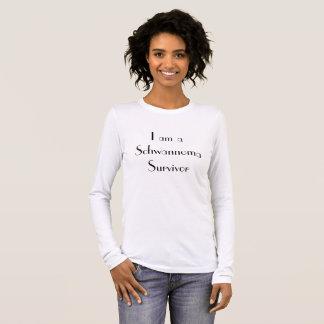 """""""I am a Schwannoma Survivor"""" Women's long sleeve Long Sleeve T-Shirt"""