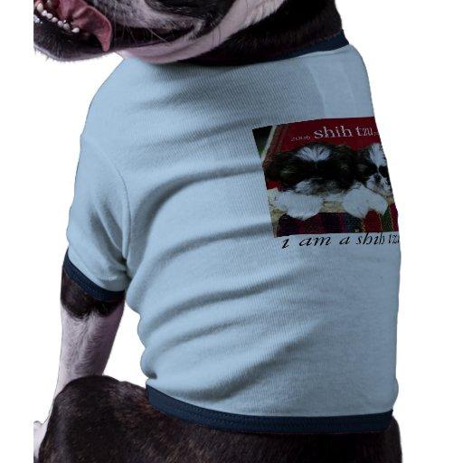 i am a shih tzu doggie t-shirt