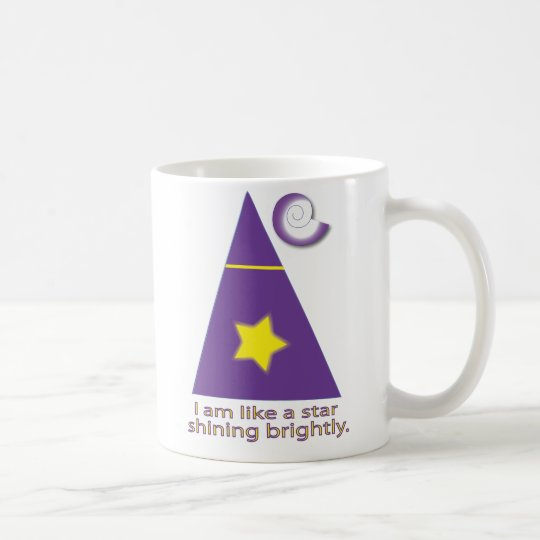 I am a shining star coffee mug