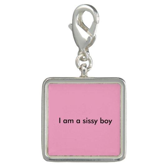 """""""I am a sissy boy"""" key chain"""