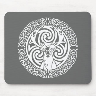 I am a Stag: Snow Mousemat