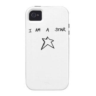 I AM A STAR Phone Cover Case-Mate iPhone 4 Cases