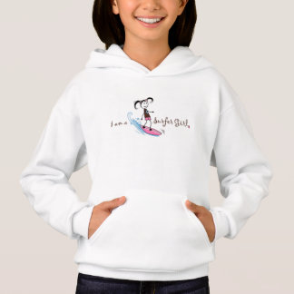 """I am a Surfer"" Girl Hoodie"