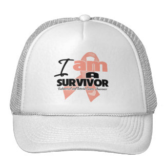 I am a Survivor - Uterine Cancer Hat