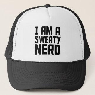 I am a sweaty nerd - Funny Trucker Hat