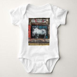 I Am A Unicorn, Shoreditch Graffiti (London) Baby Bodysuit