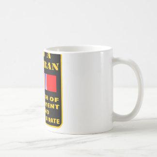I Am A Veteran My Oath Of Enlistment Has No Expire Basic White Mug