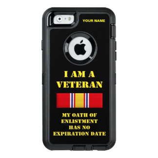 I AM A VETERAN (Vietnam) OtterBox iPhone 6/6s Case