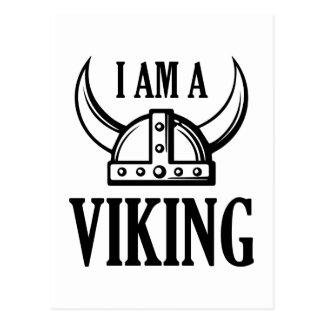 I Am A Viking Postcard
