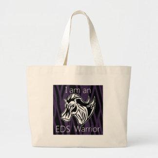 I am a warrior.png canvas bags