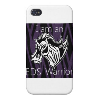 I am a warrior.png iPhone 4 cases