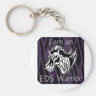 I am a warrior.png key chain