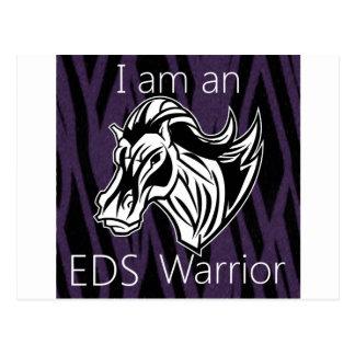 I am a warrior.png postcard