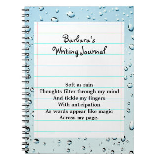 I Am A Writer Spiral Note Books