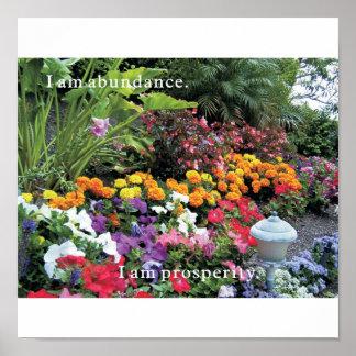 I Am Abundance Poster