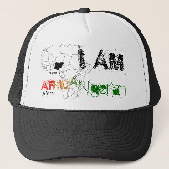 I AM , AF, RIC, A, Nigerian Trucker Hat