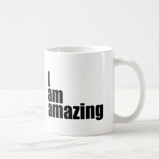 I am amazing coffee mug